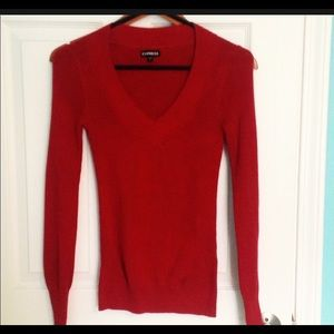 Express long sleeve sweater, slightly used